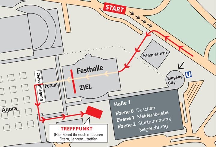 Strecke Mainova Frankfurt Marathon
