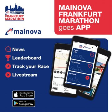 Download the Mainova Frankfurt Marathon App now! - mainova Frankfurt