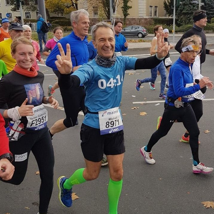 Mainova Frankfurt Marathon Pacemaker Michael Münch 09