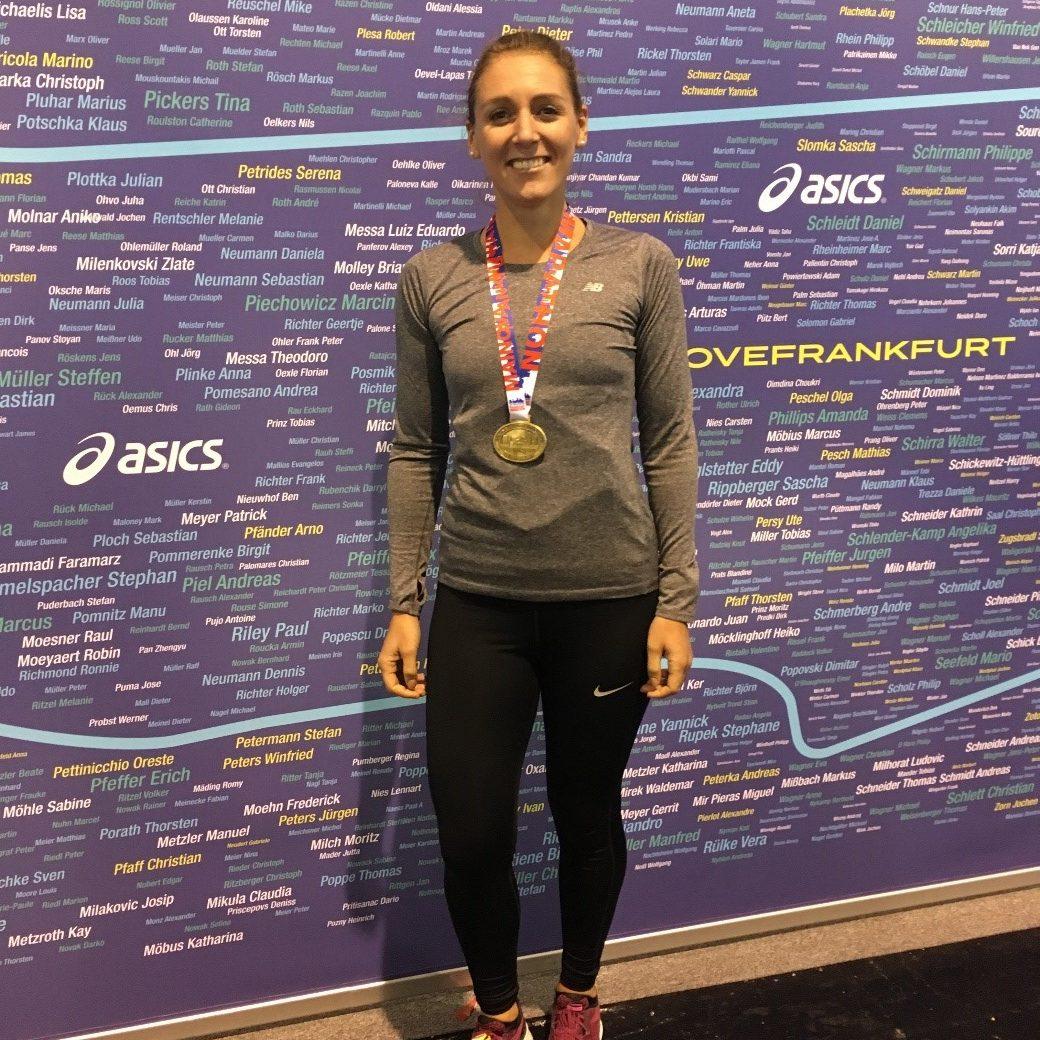 Mainova Frankfurt Marathon Pacemaker Rebecca Werking