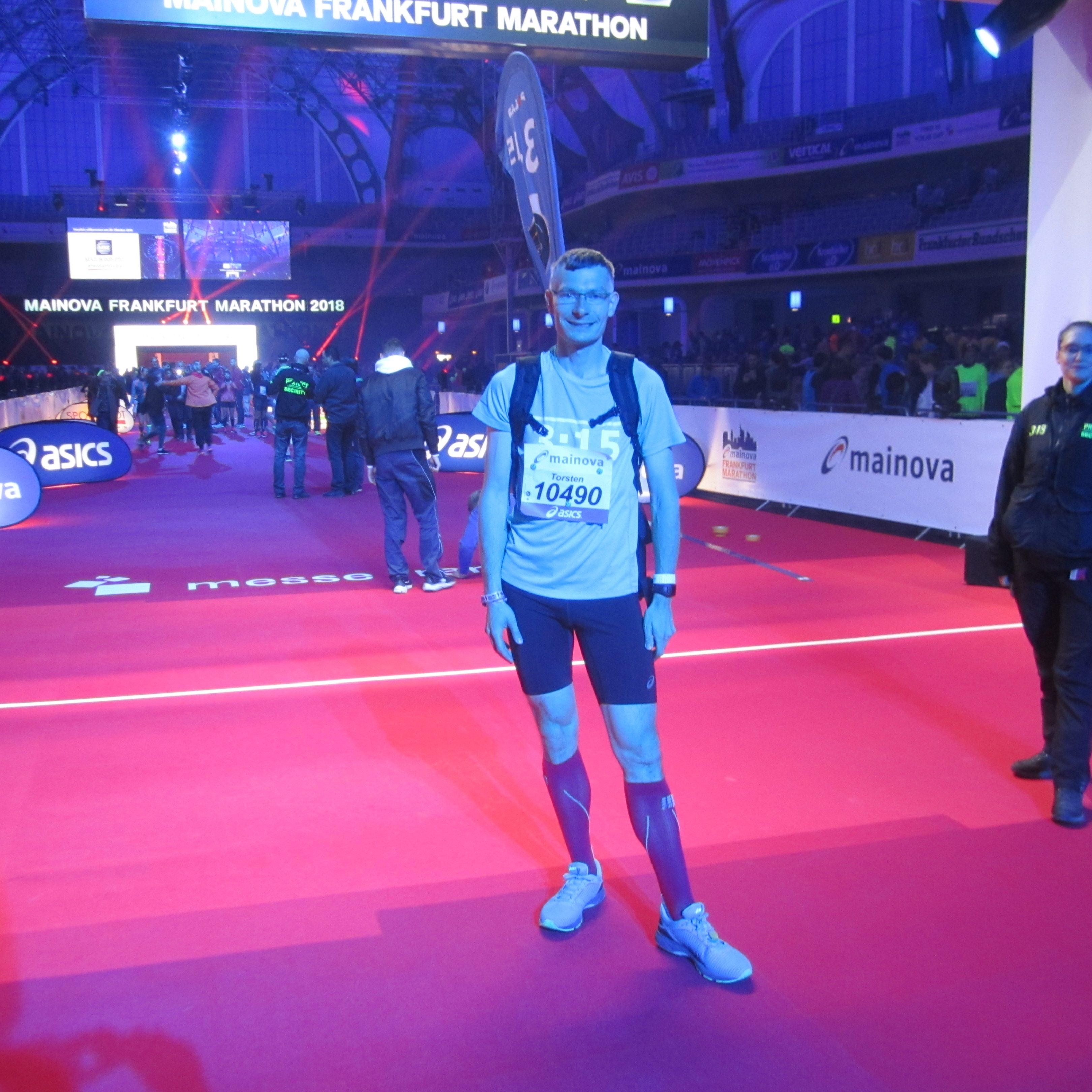Mainova Frankfurt Marathon Pacemaker Torsten Freese 2019 22