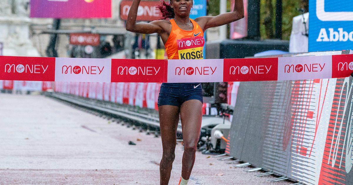 Shura Kitata Und Brigid Kosgei Gewinnen London Marathon Mainova Frankfurt Marathon